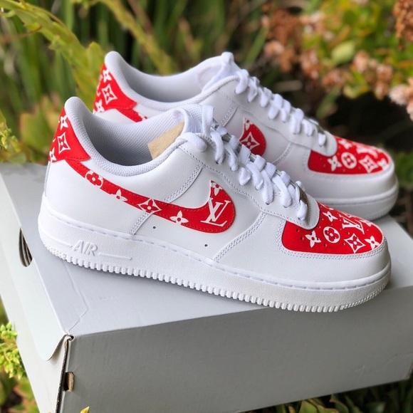Nike Shoes   Custom Lv X Supreme